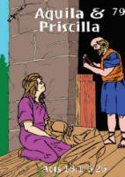 Aquila and Priscilla Trading Card