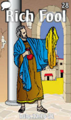 Parables bible trading cards
